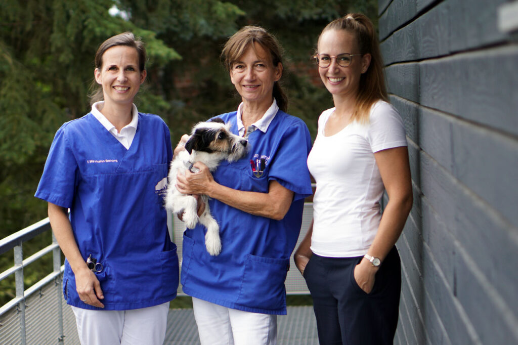 Henrike Werhahn, Dr. Patricia Werhahn, Franziska Werhahn Beining und Marco Werhahn Beining
